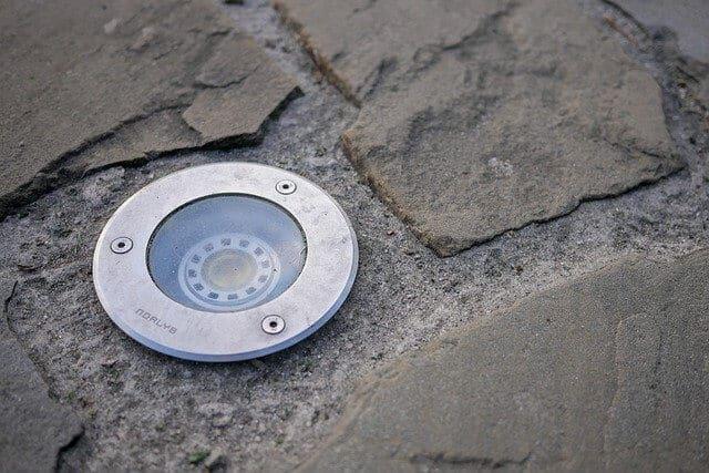 LED licht in stenen